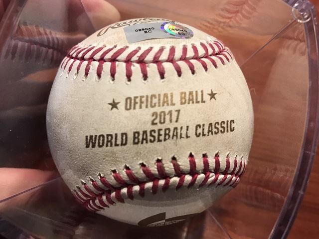 WBC記念球付きチケット