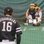 【動画】ソフトバンク東浜巨のピッチングフォーム・投球練習(真後ろから)