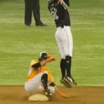 【盗塁】スライディングでスピードを落とさないコツ