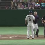 【動画】サントリードリームマッチ2017で和田一浩が球審にブチギレ!佐野が止めに入るも・・。